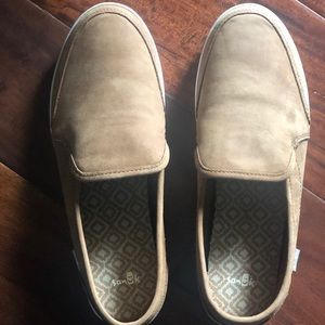 Sanuk Size 8 loafers-never worn